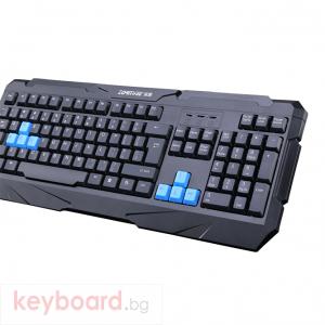 Геймърска клавиатура, ZornWee Resident Evil, USB, Черен