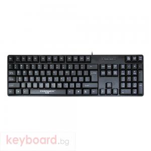 Клавиатура, ZornWee Revenge, USB, Черен
