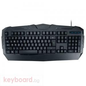 Геймърска клавиатура, ZornWee V6, Черен