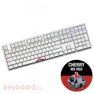 Геймърскa механична клавиатура Ducky One Rainbow, Cherry MX Red