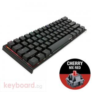 Геймърскa механична клавиатура Ducky One 2 Mini RGB, Cherry MX Red