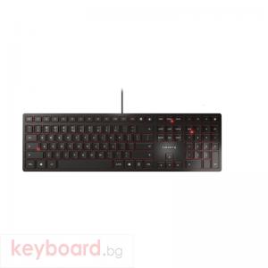 Жична клавиатура CHERRY KC 6000 Slim, SX технология,черна