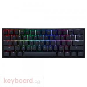 Геймърскa механична клавиатура Ducky One 2 Mini V2 RGB, Cherry MX Black