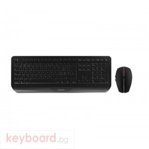 CHERRY Gentix desktop безжичен комплект клавиатура с мишка