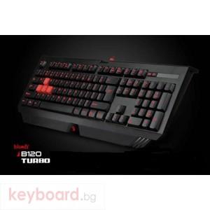 Клавиатура A4 TECH Bloody B120 геймърска с LED подсветка