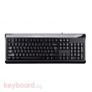 Клавиатура A4tech KB-8A, USB, Черна