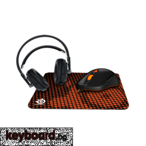 Комплект геймърски SteelSeries Heat Orange Bundle