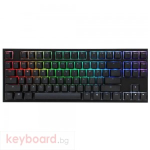 Геймърскa механична клавиатура Ducky One 2 RGB TKL, Cherry MX Silver