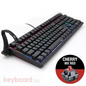 Геймърскa механична клавиатура Ducky Shine 6 RGB, Cherry MX Red