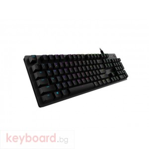 Геймърска механична клавиатура Logitech G512 GX Brown TACTILE, Romer-G суичове