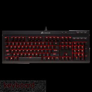 Клавиатура CORSAIR K68 Red LED, Cherry MX Red