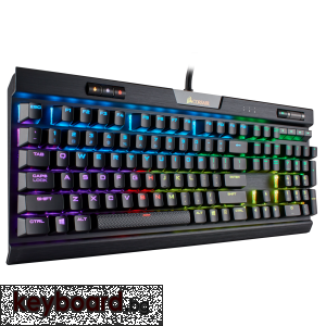 Клавиатура CORSAIR K70 RGB MK.2, Black, RGB LED, Cherry MX Red