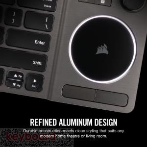 Клавиатура CORSAIR K83 Wireless Entertainment Keyboard