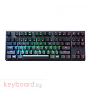 Геймърска механична клавиатура Cooler Master MasterKeys Pro S Blue суичове