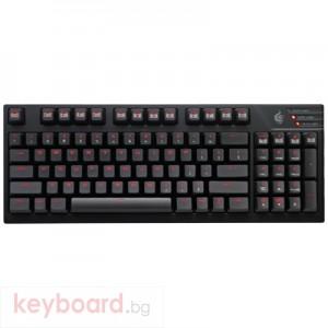 Клавиатура COOLER MASTER геймърска механична CM Storm Quick Fire TK червен
