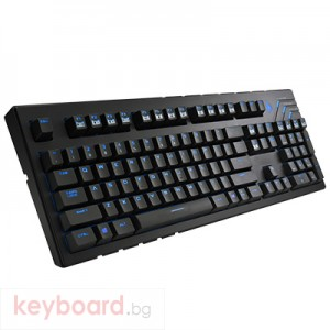 Клавиатура COOLER MASTER геймърска механична CM Storm Quick Fire Ultimate син