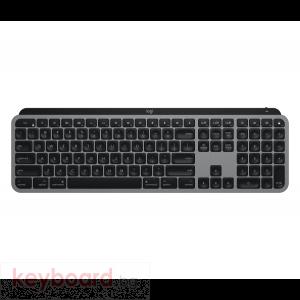Безжична клавиатура Logitech MX Keys, Астро сива