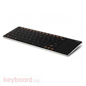 Клавиатура RAPOO E2700 Black Безжична клавиатура с тъч-пад