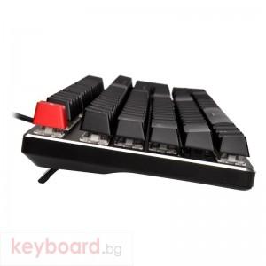 Геймърска механична клавиатура Glorious RGB Gateron Brown GMMK US Layout