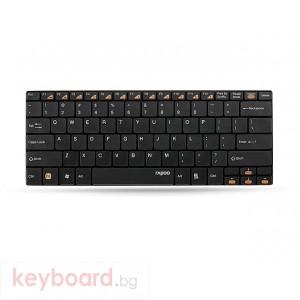 Клавиатура RAPOO E9050 Black Безжична клавиатура 2.4Ghz