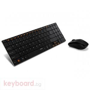 Клавиатура RAPOO 9060 Black Безжичен комплект:клавиатура+мишка