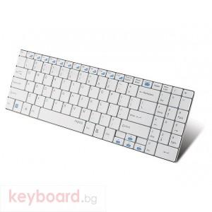 Клавиатура RAPOO E9070 White Безжична клавиатурa 2.4Ghz