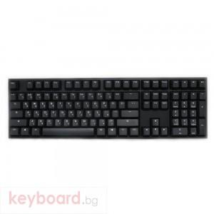 Геймърскa механична клавиатура Ducky One 2 Phantom, Cherry MX Silent Red
