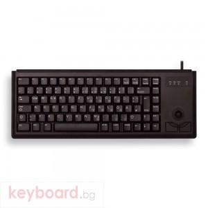 Компактна клавиатура CHERRY G84-4400 с Trackball, Черна