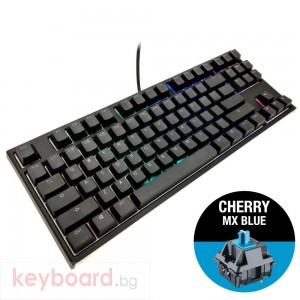Геймърскa механична клавиатура Ducky One 2 RGB TKL, Cherry MX Blue