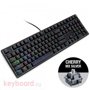 Геймърскa механична клавиатура Ducky One Black RGB