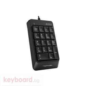 Цифрова клавиатура A4tech FK13P, Черна
