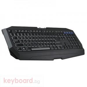 Клавиатура GIGABYTE Force K7,USB, черна, геймърска