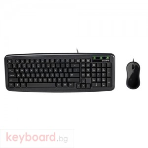 Клавиатура GIGABYTE мултимедийна с мишка КМ 5300 USB