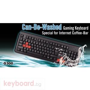Клавиатура A4 TECH G300 Геймърска клавиатура USB