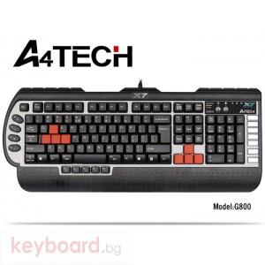 Клавиатура A4 TECH G800V Геймърска клавиатура