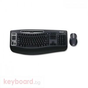 Комплект мишка и клавиатура MICROSOFT Wireless Laser Desktop 5000 USB, Schweizer