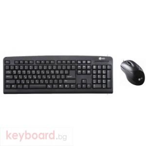 LG Optical Desktop MKS850 PS2 Black