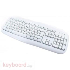 Logitech Value Keyboard White PS/2
