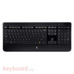 Клавиатура Logitech Wireless Illuminated Keyboard K800