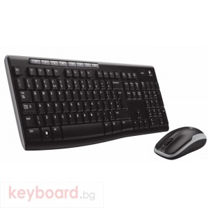 Комплект Logitech Wireless Desktop MK260