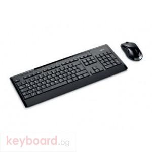 Безжична клавиатура и мишка Fujitsu  LX901 Черни USB