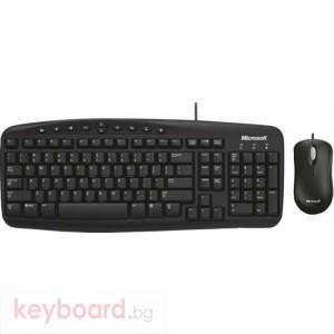 Комплект клавиатура и мишка Microsoft Wired Desktop 500 Swedish