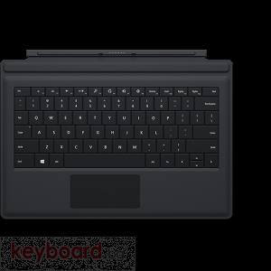 Клавиатура MICROSOFT SURFACE TYPE COVER 3 ENGLISH