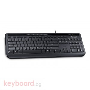 Microsoft Wired Keyboard 600 USB English Black Retail