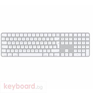 Клавиатура Apple Magic Keyboard (2021) with Touch ID and Numeric Keypad Romanian (2021)  MK2C3RO/A