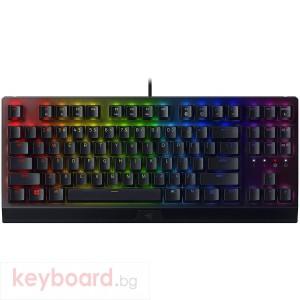 Клавиатура Razer BlackWidow Keyboard V3 Tenkeyless - Green Switch  RZ03-03490100-R3M1