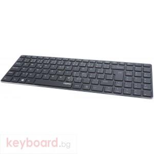 Клавиатура RAPOO E9100P 5G Безжична Ultra Slim Черна