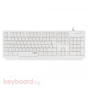 Клавиатура RAPOO N2210 Жичнa  бяла, USB
