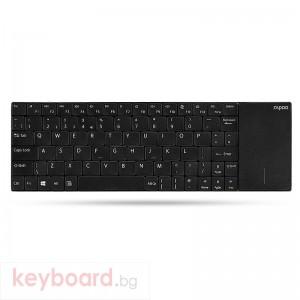 Клавиатура RAPOO E2710 Безжична Черна