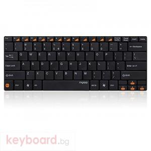 Клавиатура RAPOO E6100 Блутут ултра тънка черна